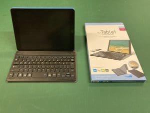 モバイルキーボードiPad横置き